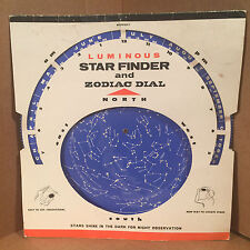 Vintage Star Finder & Zodiac Dial - Planet Positions 1970-1973