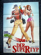 THE SUPER TYPE aka Ecco noi per esempio Original 1970s Movie Poster Barbara Bach