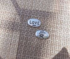 Keep Your CHINESE LOVE SYMBOL 2 His & Hers PEWTER LOVE POCKET COINS.