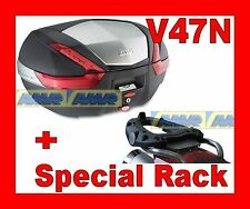 BMW R 1100 GS 1994-1999 KOFFER BAULETTO V47N COVER ALUMINIUM + CHASSIS SR694