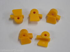 5 Accuturn Tire Changer Inserts Mount Demount Head HD Yellow Poly Rim Protector