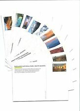 28c Scenic American Landscapes UX601-610 Set Of Ten Picture Postal Cards.
