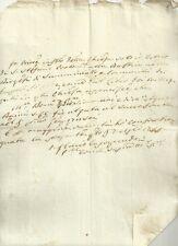 Certificato Battesimo Chiesa S. Stefano Protomartire alla Bastia S. Miniato 1796