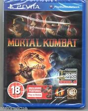 "Mortal KOMBAT ""NUOVO & Sealed' * PS Vita *"