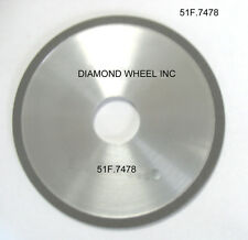 "Super Abrasive DIAMOND 5"" Chainsaw Wheels for 1/2 Pitch Carbide Tipped Chains"