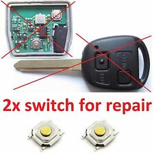toyota AVENSIS YARIS MR2 RAV4 CELICA REMOTE KEY FOB REPAIR MICRO SWITCH BUTTON