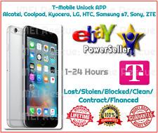 1-24 HOURS T-Mobile Galaxy S7 G930T Unlock App Factory Unlock Service