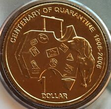 Limited Release Australian $1 Coin Quarantine Original Card 2008 One Dollar ✔️