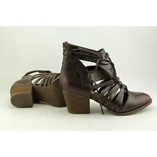 Not Rated Rusted Roots Women US 8 Brown Ankle Boot Blemish  16147