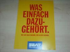 50367) Seat Ibiza Zubehör Prospekt 1994