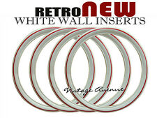 """VINTAGE COLLECTOR CAR AUTOMOBILE WHITE WALL TIRE 17"""" [ID-R]"""