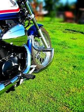 Honda VT 750 Shadow S, Rs (RC 58), 2010+ cadena de acero inoxidable choque bar con clavijas
