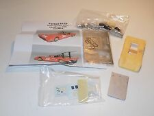 1/43 Midatlantic Models Ferrari 612 P car #16 Chris Amon Elkhart Lake 1969 KIT