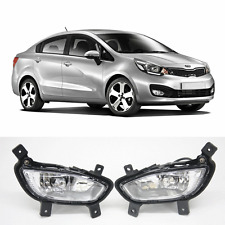 Kia Rio Sedan OEM Fog Light / Lamp Complete Kit ( Fits : 2012 2013 2014 2015 )