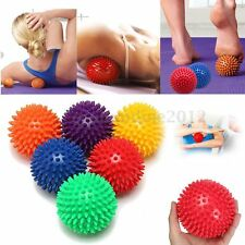 10cm Spiky Massage Ball Roller Trigger Point Stress Therapy Tension Yoge Toy