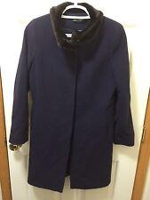 Lauren Ralph Lauren Women's Navy Wool Button Up Jacket Size 10