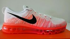 NIKE AIR MAX 2015 FLYKNIT BIANCA ARANCIO FLUO N.40 NEW COLOR PREZZO OKKSPORT
