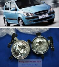 2005 ~ HYUNDAI Getz Click fog lamp light (LH,RH)  wire 1set Genuine Parts