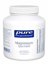 Pure Encapsulations, Magnesium (glycinate) 120 mg 180 vcaps