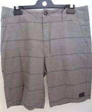 NEW RIP CURL MEN TANIN WALK SHORT 100% Cotton Gray size 32 code 1-71 RP$54.50
