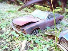 1964 1/2 ForD MusTang UnResTored Junker lot RuSt Junk 1/18 Diecast car BaRn fInD