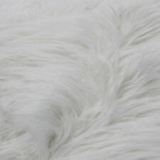 Luxury Shag Long Pile Faux Fur Fabric By the Yard