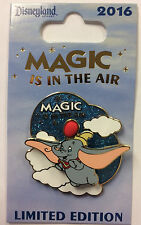 Disneyland Magic in the Air DUMBO The Flying Elephant Disney LE Pin