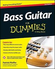 Bass Guitar for Dummies by Patrick Pfeiffer (2014, Paperback)