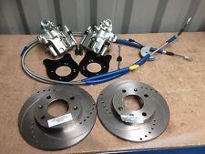 "Mk1 Mk2 Escort 13"" English axle rear disc brake conversion kit RS rally BR-86EDG"