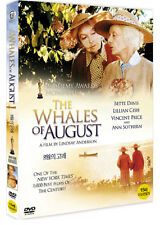 The Whales Of August (Bette Davis, Lillian Gish, 1987) DVD NEW