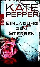 Einladung zum Sterben von Kate Pepper UNGELESEN
