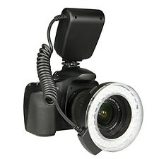 48 pcs RF-550D Macro LED Ring Flash Light for NIKON Canon Olympus DSLR Cameras
