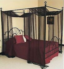 Four Poster Bed Curtains Ebay