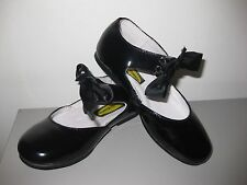 Boutaccelli Classica Girls Black Patent Leather Shoes Size 26, Special Occasions