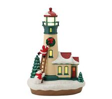 2012 Hallmark HOLIDAY LIGHTHOUSE #1 Magic Cord Ornament *Priority Shipping*
