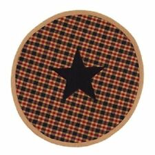 Country Jefferson round STAR table/place mat / nice