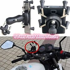 Motorcycle Bicycle Handlebar X Shape Mount Holder Universal For GPS iPhone 5,6,7