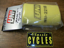Yamaha TY250 TY 250 Trials  Bike Air Filter & Cage UNI NU-2218 AHRMA 1974 - 78