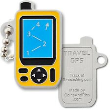 GPS Receiver (GPSr) Micro Travel Tag For Geocaching (Travel Bug Geocoin)