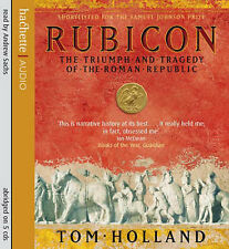 Rubicon: el triunfo y tragedia de la República romana por Tom Holland (CD Audio,