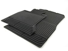 GENUINE OEM BMW 5 Series F10 F11 Front All-Weather Floor Mats Black 51472153725