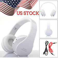 Foldable Wireless Bluetooth Stereo Headset Headphones Handsfree Mic For iPhone 7