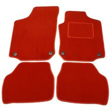 VW GOLF 4 R32 1997-2004 LEFT HAND DRIVE TAILORED RED CAR MATS