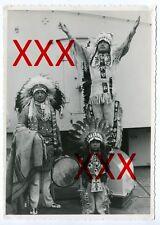 KREUZER KARLSRUHE - orig. Foto, 12,7x17,5cm, Seattle, Indianer, Juni 1932, photo
