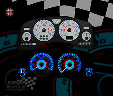 Fits Vauxhall Astra mk4 speedo dash white dial lighting bulb custom upgrade kit