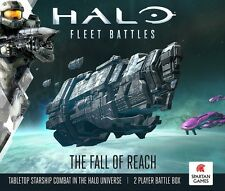 New Halo Fleet Battles The Fall of Reach -  2 player box set
