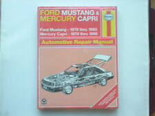 FORD MUSTANG 1979-93, MERCURY CAPRI 1979-86 Haynes  Manual New Old Stock