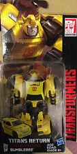 "Transformers TITAN S RETURN legenda CLASSE 4"" Bumblebee nuova"