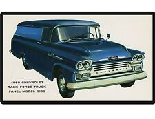 1958 Chevy Task Force Panel Truck Refrigerator / Tool Box Magnet
