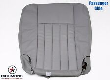 2004 Lincoln Navigator -Passenger Side Bottom Perforated Leather Seat Cover Gray